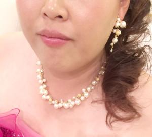 妹カラードレス